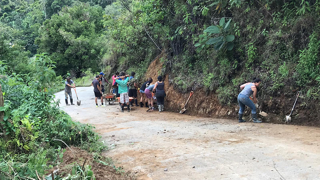 Team Paving the Road to Prevent Landslides in Costa Rica